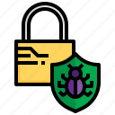 protection, shield, security, defense, secure, lock, bug