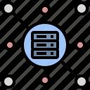 database, data, center, server, hosting, share, service