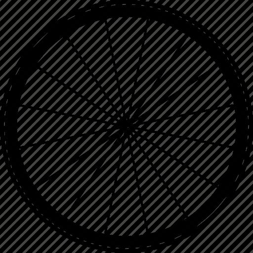 cycle, cycling, hub, road, tyre, wheel, wheels icon