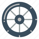 bike, car, tire, wheel icon