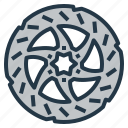 brake, disc, disk, resistant, road, rotor