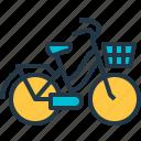 beach, bicycle, bike, cruiser, cycling
