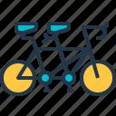 bicycle, bicycling, bike, cycling, tandem