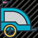 buggy, carrier, cart, stroller, trailer