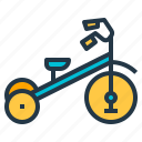 bike, tricycle, tricycling, wheels icon