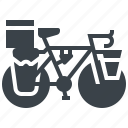 bicycle, courier, cycling, delivery, messenger, touring