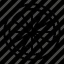 rim, tire, tyre, wheel icon