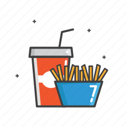 beverage, colla, cup, drink, food, general, soda icon