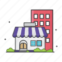 building, general, home, house, online shop, shop, store icon