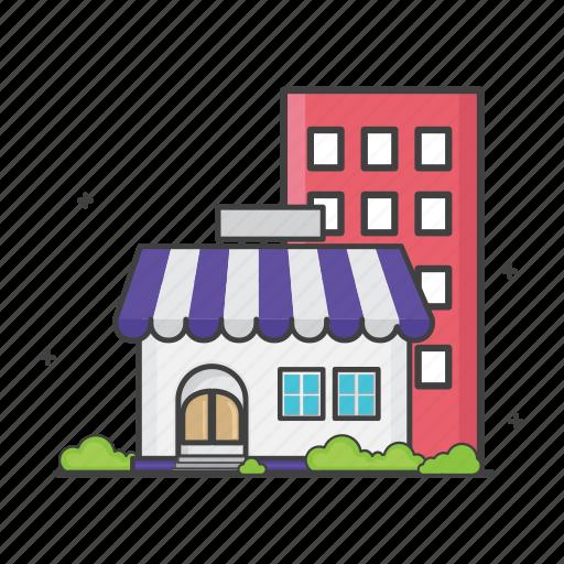 building, general, home, house, online shop, shop, store icon
