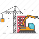 building, construction, general, outdor icon