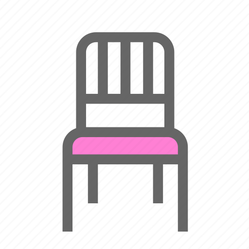 chair, daily, living room, objects, relax, rest, seat icon