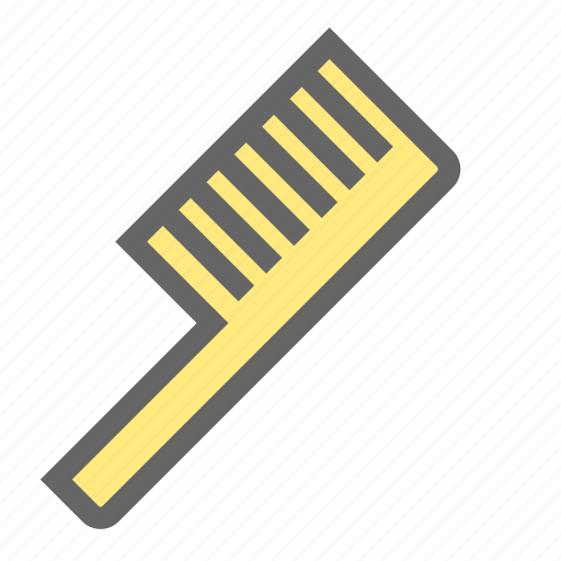 comb, daily, hair, haircut, hairstyle, objects, salon icon