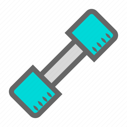 daily, dumbbell, exercise, fitness, gym, objects, workout icon