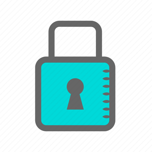 acess, daily, lock, objects, padlock, password, safety icon
