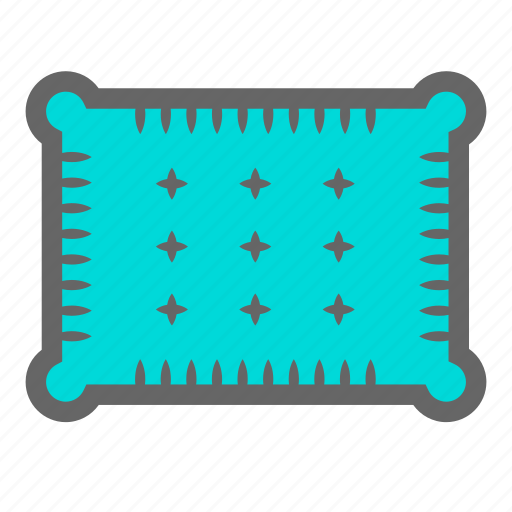 bedroom, daily, nap, objects, pillow, relax, rest icon
