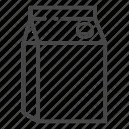 carton, dairy, food, milk, uht icon