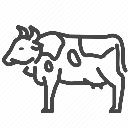 animal, cattle, cow, dairy, milk icon