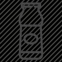 curd, dairy, food, milk, yogurt icon