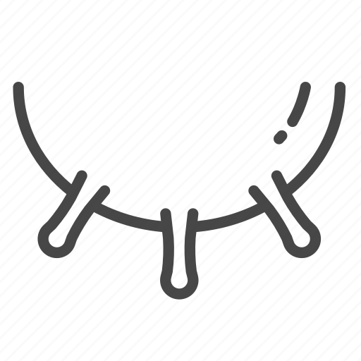 breast, cattle, cow, dairy, milk icon