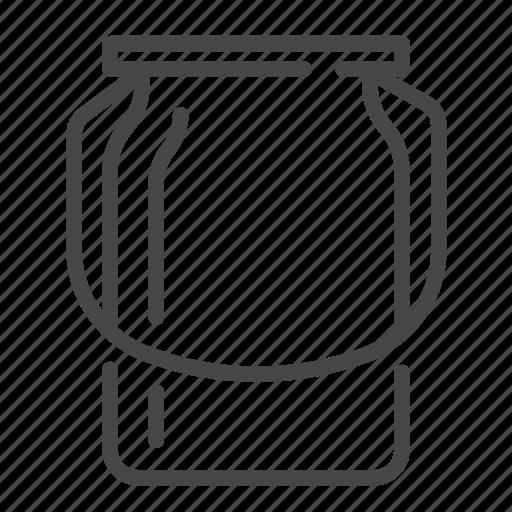 barrel, bucket, dairy, milk icon