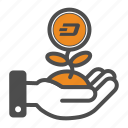 dash, save, saving icon