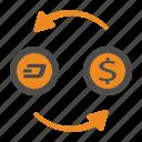 cash, dash, money, transfer