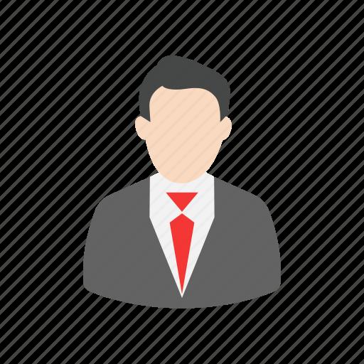 avatar, employee, lady, male icon