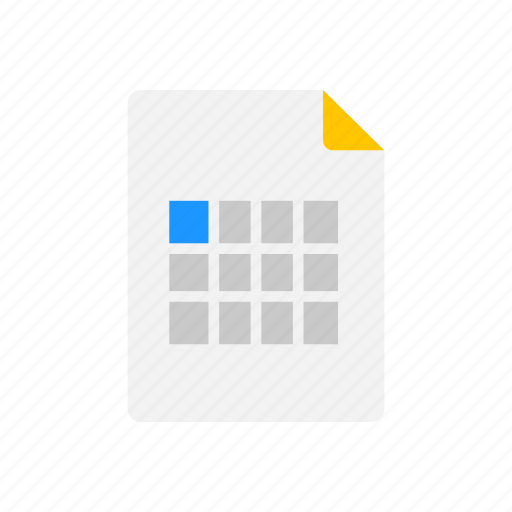 Files, notes, document, sheet icon