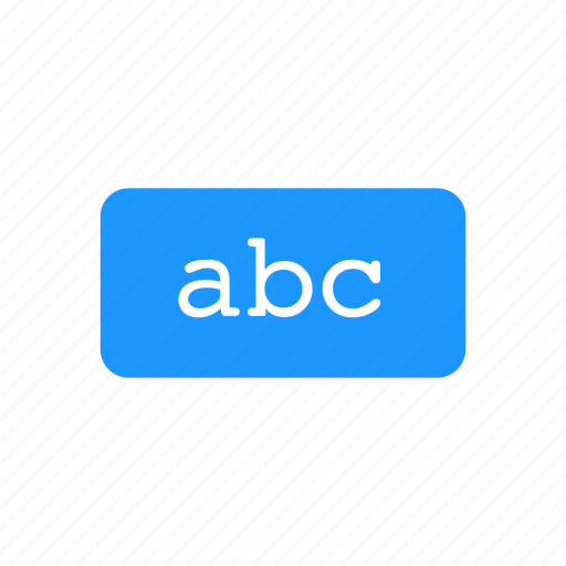 abc, alphabet, character, letter icon
