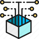 source, data, code, analytics, technology, web, open icon