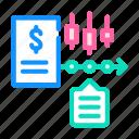 analysis, time, data, financial, series, diagram