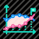 analysis, data, financial, statistical, swot, diagram icon