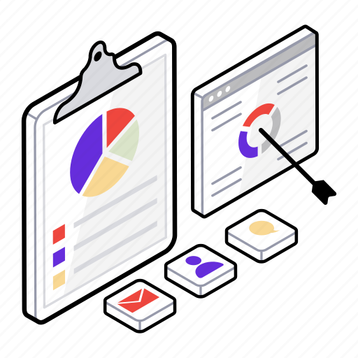 business planning, business report, business strategy, financial report, report and strategy icon
