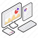 analytic graph, business graph, statistics, web analytics, web graph icon
