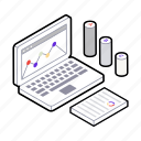 analytics, business growth, data analytics, graphical representation, infographic icon