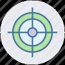 aim, dartboard, focus, goal, target icon