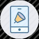 mobile sound, music, phone volume, sound, volume icon
