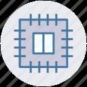 chip, core, cpu, memory, microchip, processor icon