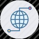 earth, globe, networking, world, world globe, worldwide icon