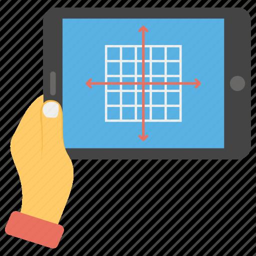 blockchain, data analysis, data network, data visualization, network, online analytics icon