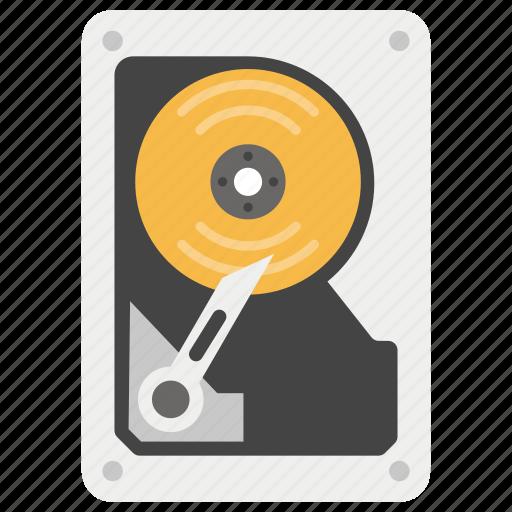 data storage, hard disk, hard drive, hdd, peripheral device icon