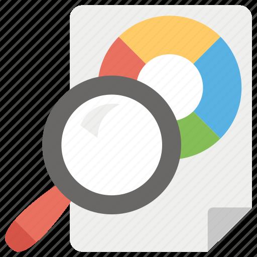 analytics, business chart, business data, data chart, graphical analysis, pie chart, pie diagram icon
