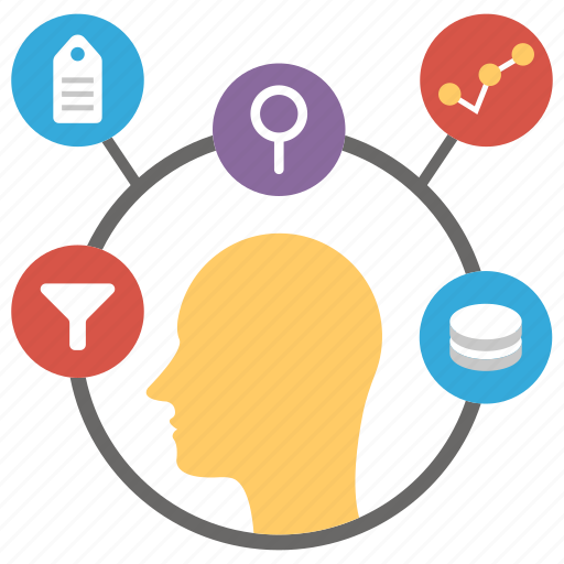 analytics database, cyber security, data analysis, data compliance, data encryption icon