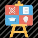 business presentation, data presentation, financial graph, graphical analysis, graphical presentation icon
