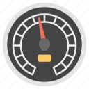 dashboard screen, data speedometer, data velocity, historical data, speed analysis icon
