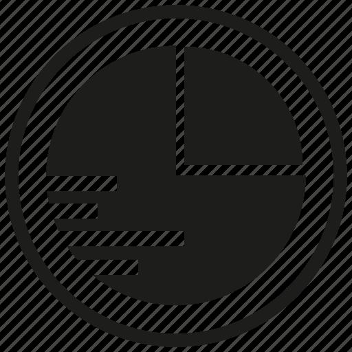 data, graph, pie chart icon