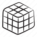 cube, logic game, magic rubik, puzzle cube, rubik, toy
