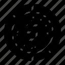 circle, chart, data, analysis, pie, progress, statistical
