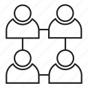 connect, group, network, people